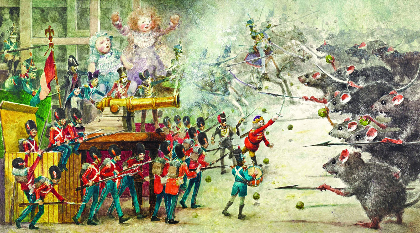 robert ingpen and wonderland the nutcracker the 1816 german story that inspired tchaikovsky s famous ballet is rarely translated in its original form as we have done in this